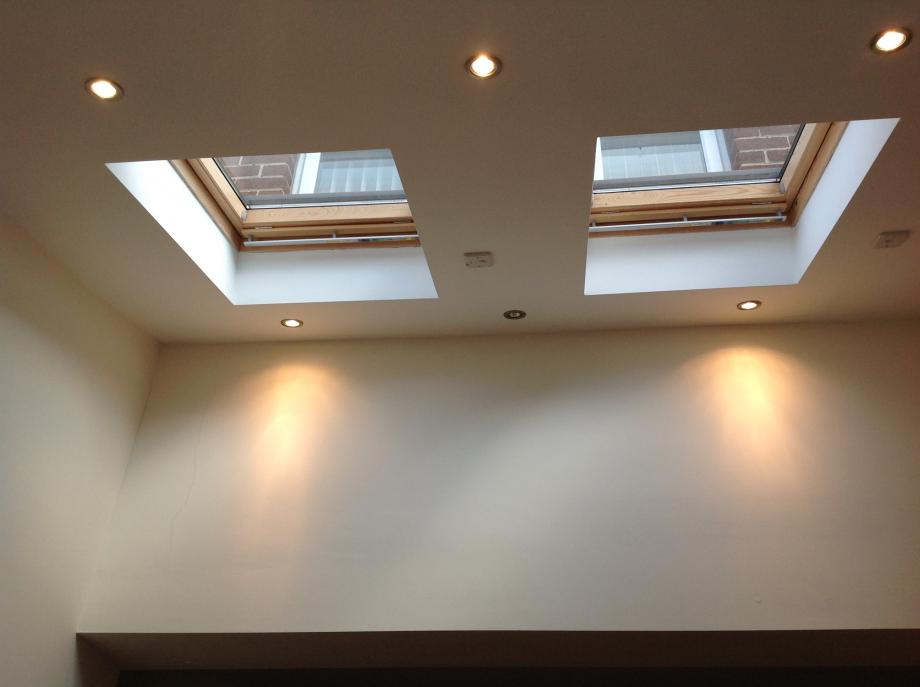 Windows In Ceiling photo gallery of our work (in progress and completed) | orchard